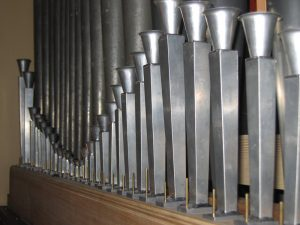 The reconstruction by Fratelli Ruffatti of a typical Tromboncini stop of Gaetano Callido, the famous Venetian organbuilder active during the second half of the eighteenth century.