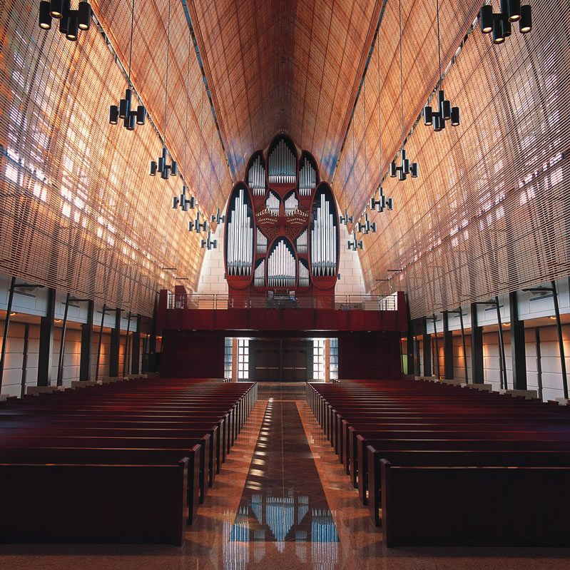 The Church of the Epiphany, Miami, Florida - USA Organo a tre tastiere con doppia consolle, 2002
