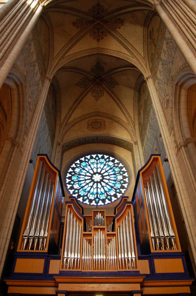 Cattedrale di Uppsala, Svezia Organo a quattro tastiere e doppia consolle, 2009