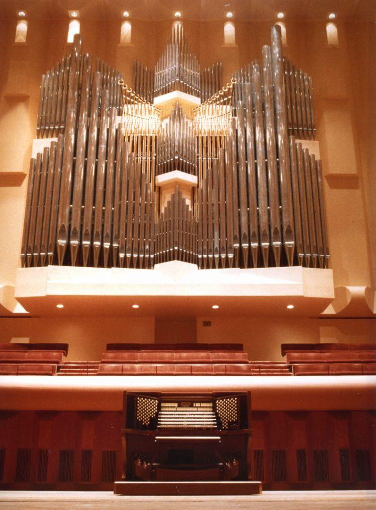 Davies Symphony Hall, San Francisco, California – USA, Organo a cinque tastiere, 1984