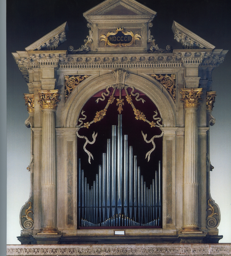 L'opera di maggiori dimensioni pervenutaci del famoso organaro veronese Girolamo Zavarise. Isera (Trento), Chiesa Parrocchiale,  1802