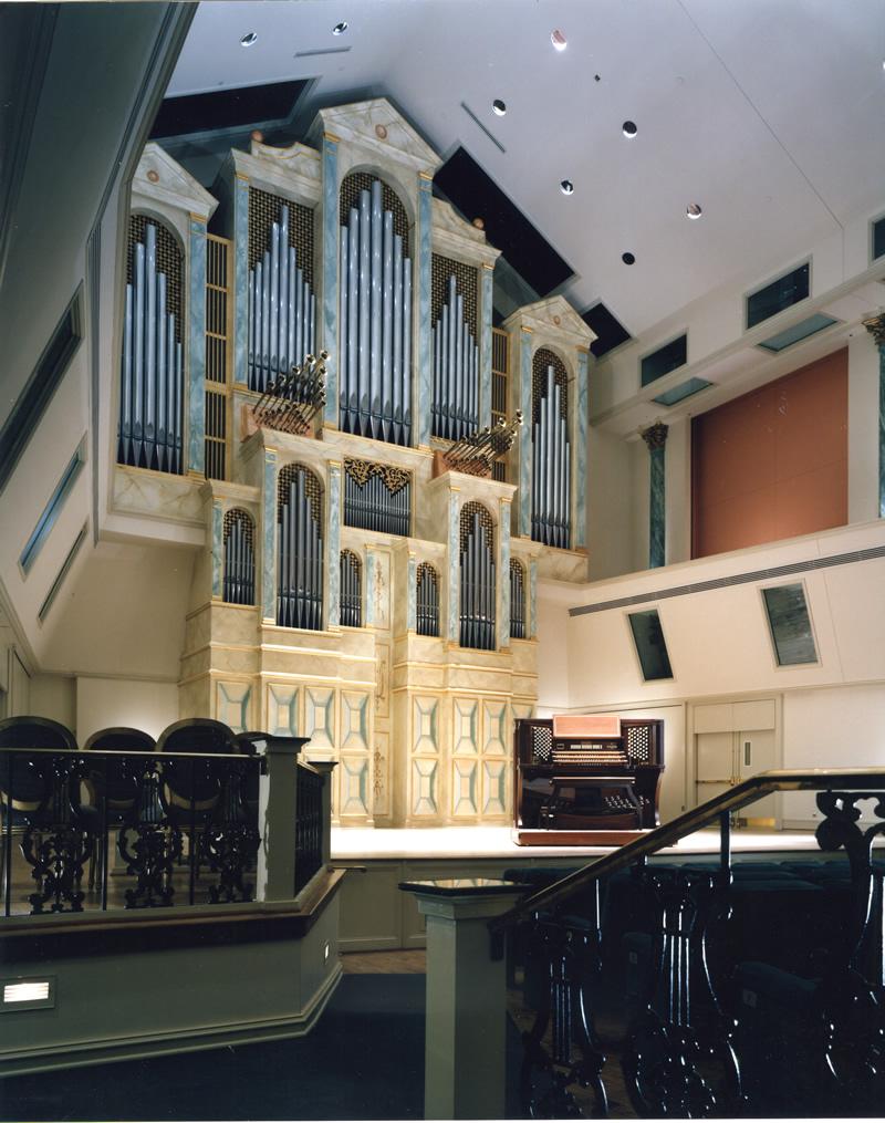 Spivey Hall, Clayton State College, Morrow, Georgia, Organo a tre tastiere, 1992
