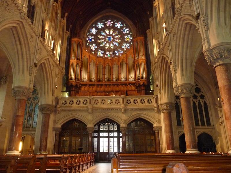 Lo strumento a tre tastiere costruito da Telford & Telford di Dublino nel 1904. Si trova attualmente in restauro presso la Fratelli Ruffatti e sarà restituito alla Cattedrale di Cobh, Irlanda nel 2018.