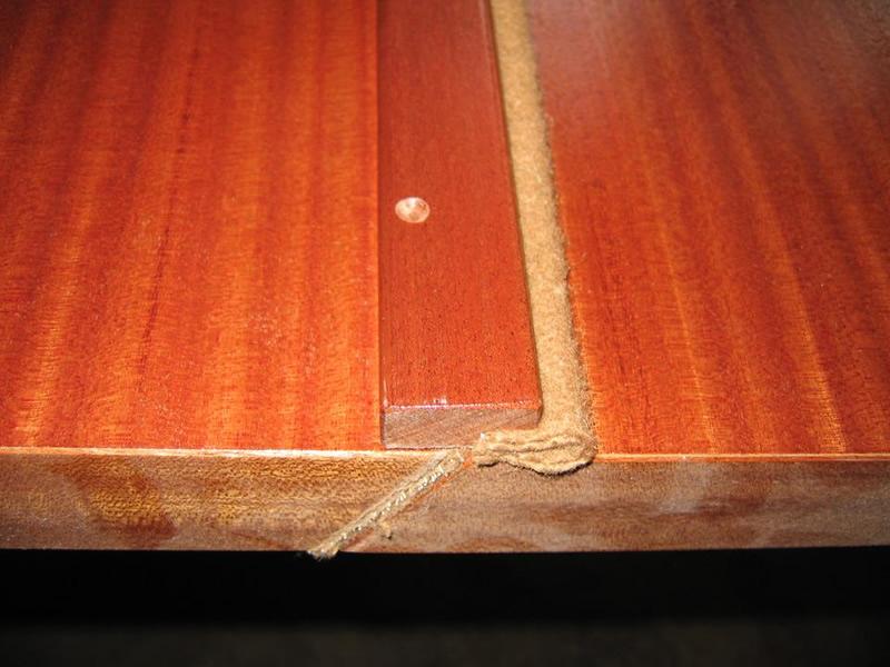 I bordi delle griglie sono perfettamente  sigillati con grosso panno.