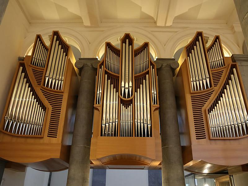 Cattedrale di Longford, Irlanda, Organo a tre tastiere, 2015